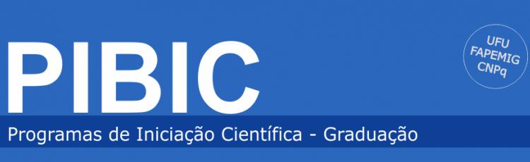 Programas de Iniciação Científica - Graduação